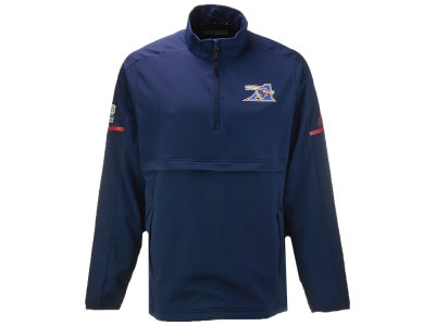 Montreal Alouettes adidas CFL Men's Long Sleeve Quarter Zip Woven Jacket