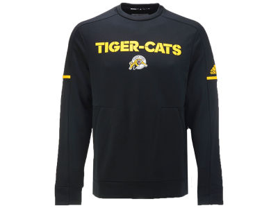 Hamilton Tiger-Cats adidas CFL Sideline Player Crew