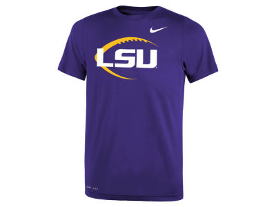 LSU Tigers Nike NCAA Youth Legend Football Icon T-Shirt