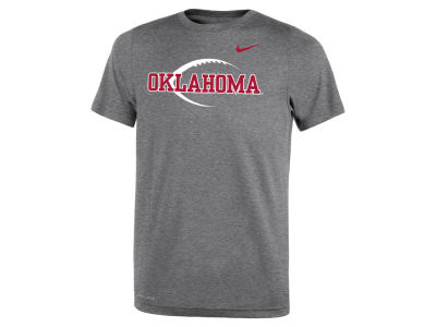 Oklahoma Sooners Nike NCAA Youth Legend Football Icon T-Shirt