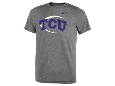 Texas Christian Horned Frogs Nike NCAA Youth Legend Football Icon T-Shirt