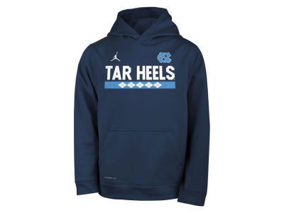 North Carolina Tar Heels Nike NCAA Youth Therma Color Block Hoodie