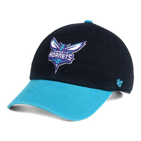 Charlotte Hornets '47 NBA 2-Tone '47 CLEAN UP Cap