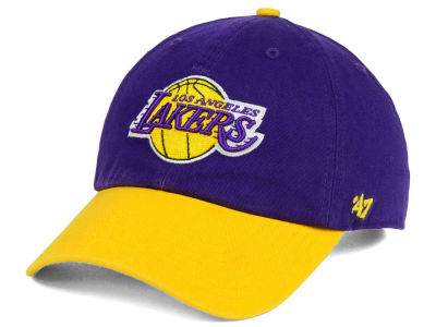 Los Angeles Lakers '47 NBA 2-Tone '47 CLEAN UP Cap