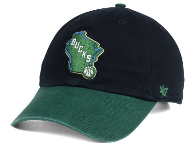 Milwaukee Bucks '47 NBA 2-Tone '47 CLEAN UP Cap