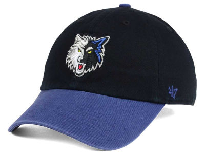 Minnesota Timberwolves '47 NBA 2-Tone '47 CLEAN UP Cap