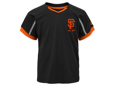 San Francisco Giants Outerstuff MLB Toddler Legacy Short Set