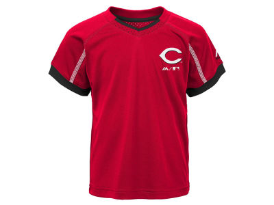 Cincinnati Reds Outerstuff MLB Toddler Legacy Short Set