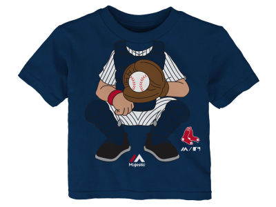 Boston Red Sox Outerstuff MLB Infant The Batter T-Shirt