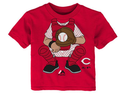 Cincinnati Reds Outerstuff MLB Infant The Batter T-Shirt