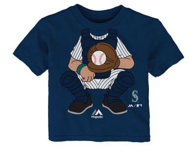 Seattle Mariners Outerstuff MLB Infant The Batter T-Shirt