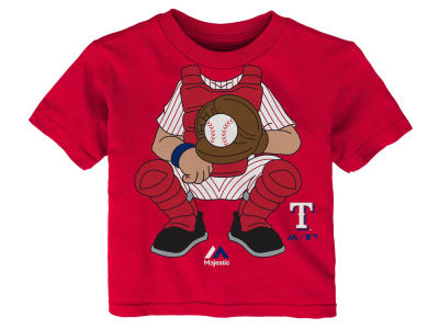 Texas Rangers Outerstuff MLB Infant The Batter T-Shirt