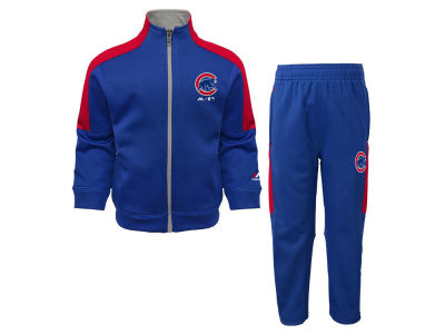 Chicago Cubs Outerstuff MLB Infant Ball Boy Pant Set