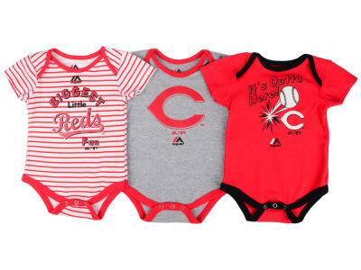 Cincinnati Reds Outerstuff MLB Newborn Homerun 3pc Set
