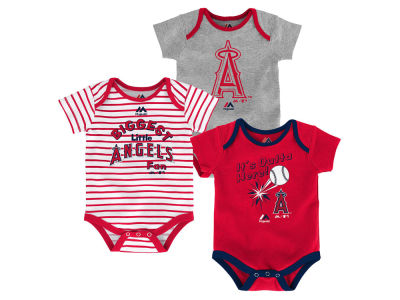 Los Angeles Angels Outerstuff MLB Newborn Homerun 3pc Set