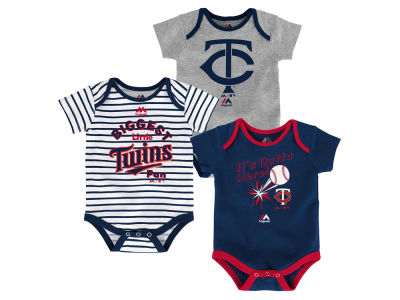 Minnesota Twins Outerstuff MLB Newborn Homerun 3pc Set