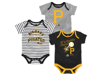 Pittsburgh Pirates Outerstuff MLB Newborn Homerun 3pc Set