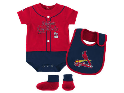 St. Louis Cardinals Outerstuff MLB Newborn Tiny Player Set