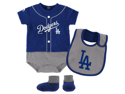 Los Angeles Dodgers Outerstuff MLB Newborn Tiny Player Set