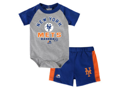 New York Mets Outerstuff MLB Newborn Fan Favorite Short Set