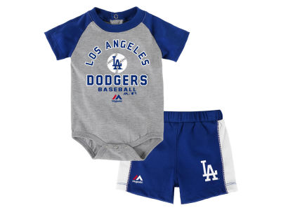 Los Angeles Dodgers Outerstuff MLB Newborn Fan Favorite Short Set