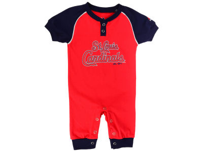 St. Louis Cardinals Outerstuff MLB Newborn Game Time Coverall