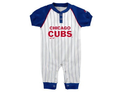 Chicago Cubs Outerstuff MLB Newborn Game Time Coverall