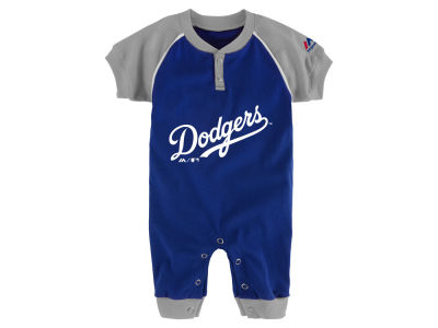 Los Angeles Dodgers Outerstuff MLB Newborn Game Time Coverall