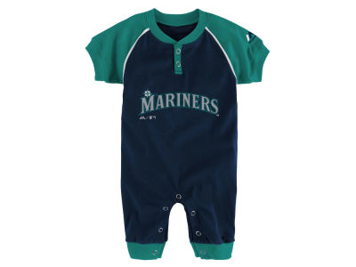 Seattle Mariners Outerstuff MLB Newborn Game Time Coverall