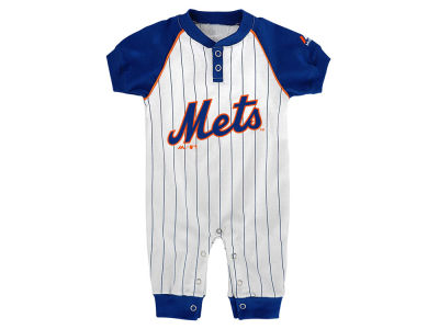New York Mets Outerstuff MLB Newborn Game Time Coverall