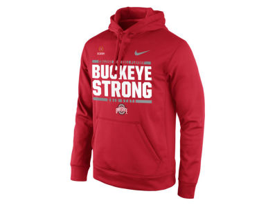 Ohio State Buckeyes Fiesta Bowl Nike 2017 NCAA Men's College Football Playoff Bound Verbiage Hooded Sweatshirt