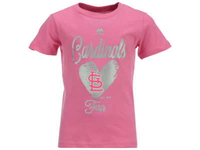 St. Louis Cardinals Outerstuff MLB Toddler Girls Autograph T-Shirt