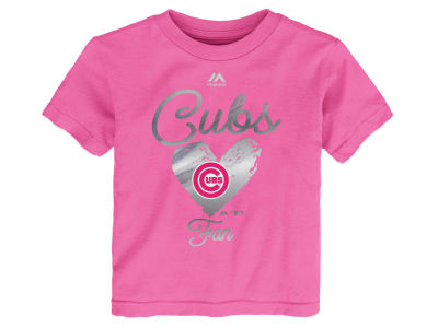 Chicago Cubs Outerstuff MLB Toddler Girls Autograph T-Shirt