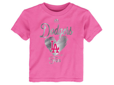 Los Angeles Dodgers Outerstuff MLB Toddler Girls Autograph T-Shirt