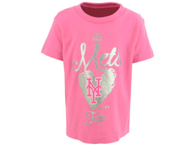 New York Mets Outerstuff MLB Toddler Girls Autograph T-Shirt