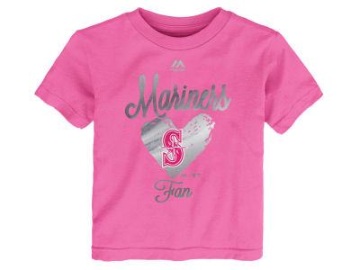 Seattle Mariners Outerstuff MLB Toddler Girls Autograph T-Shirt
