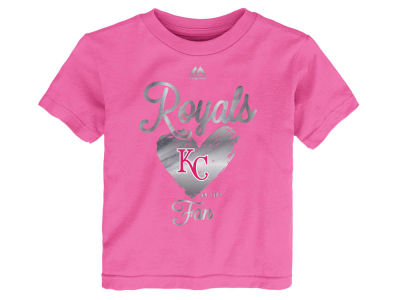 Kansas City Royals Outerstuff MLB Toddler Girls Autograph T-Shirt