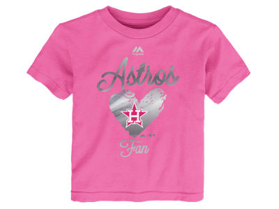 Houston Astros Outerstuff MLB Toddler Girls Autograph T-Shirt