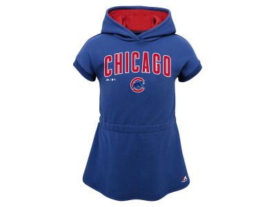 Chicago Cubs Outerstuff MLB Toddler Girls Celebrate Dress