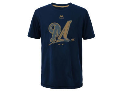 Milwaukee Brewers Outerstuff MLB Youth Split Series Ultra T-Shirt