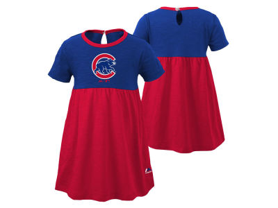 Chicago Cubs Outerstuff MLB Infant Girls Twirl Dress