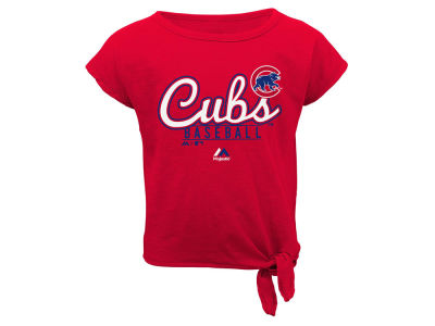 Chicago Cubs Outerstuff MLB Infant Girls Tiny Trainer Short Set
