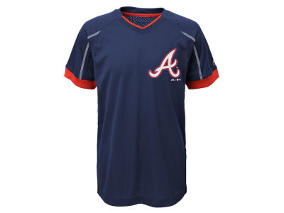 Atlanta Braves Outerstuff MLB Youth Emergence Crew T-Shirt