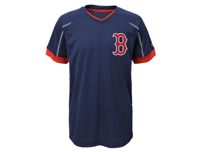 Boston Red Sox Outerstuff MLB Youth Emergence Crew T-Shirt
