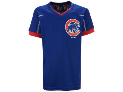 Chicago Cubs Outerstuff MLB Youth Emergence Crew T-Shirt