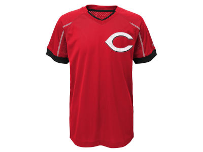 Cincinnati Reds Outerstuff MLB Youth Emergence Crew T-Shirt