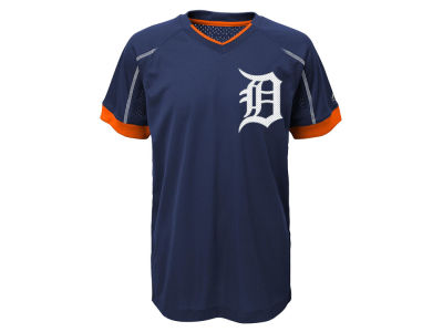 Detroit Tigers Outerstuff MLB Youth Emergence Crew T-Shirt