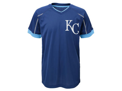 Kansas City Royals Outerstuff MLB Youth Emergence Crew T-Shirt
