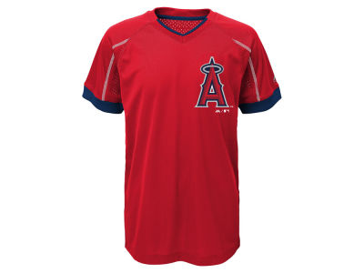 Los Angeles Angels Outerstuff MLB Youth Emergence Crew T-Shirt