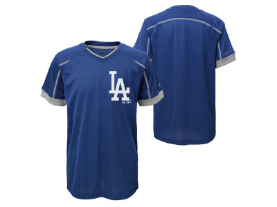 Los Angeles Dodgers Outerstuff MLB Youth Emergence Crew T-Shirt